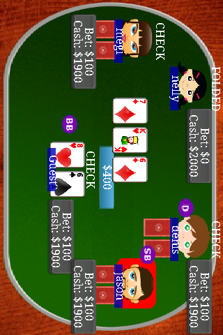 Texas Holdem Poker Bil - screenshot