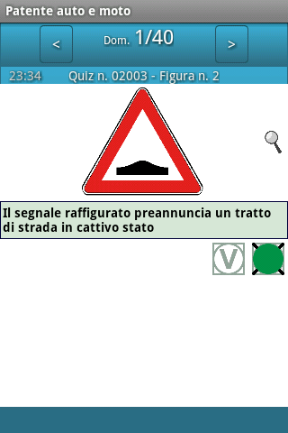 Patente auto e moto - screenshot
