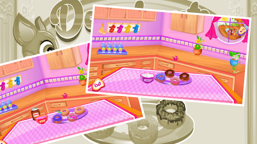donuts maker-cooking games