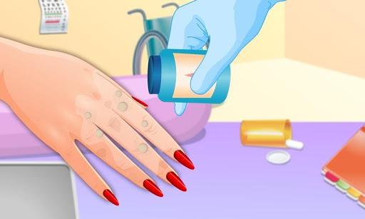 指甲醫生和修指甲遊戲