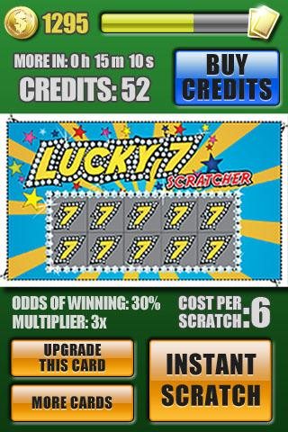 Super Scratchers Lottery HD - screenshot
