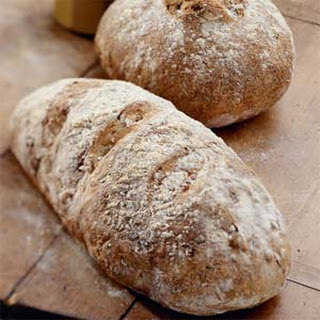 Leek and Walnut Bread
