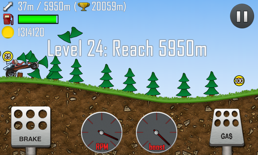 Hill Climb Racing Hack Apk Mod v.1.24.0 (Unlimited Coins) - screenshot