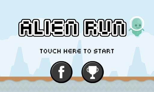 Alien Hero Run