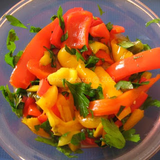 Sweet and Sour Bell Pepper.
