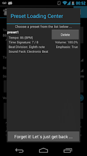 Mobile Metronome Pro- screenshot thumbnail