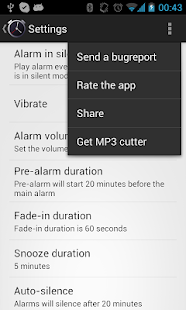 Simple Alarm Clock Free - screenshot thumbnail