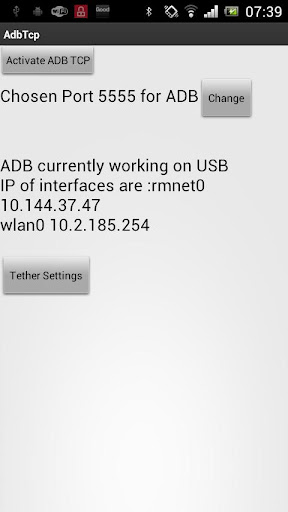 ADB TCP Rooted Phones Only