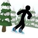 Stickman Click Death Winter icon