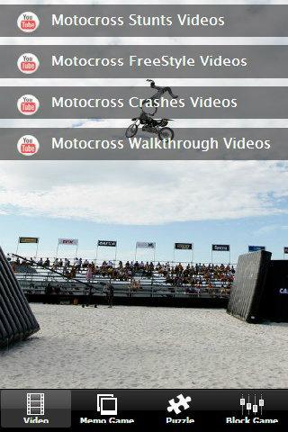 Neon Light Motocross