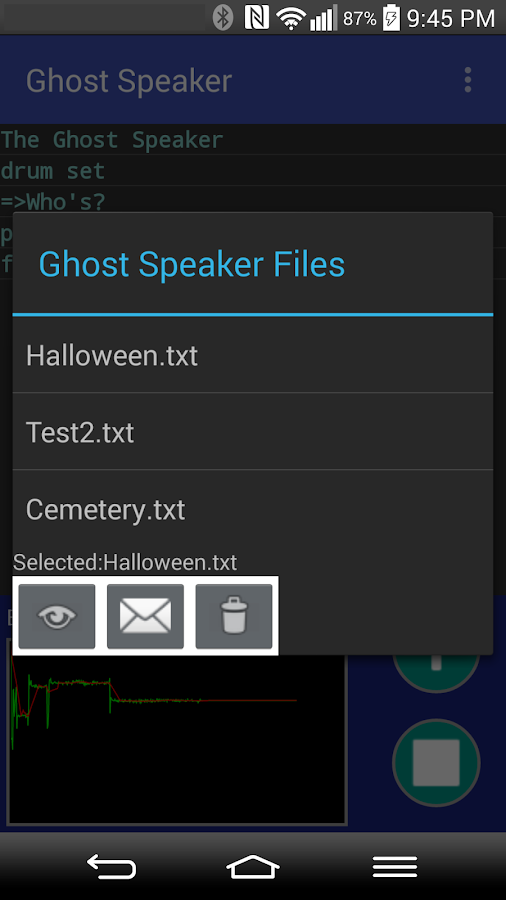 Ghost Speaker- screenshot