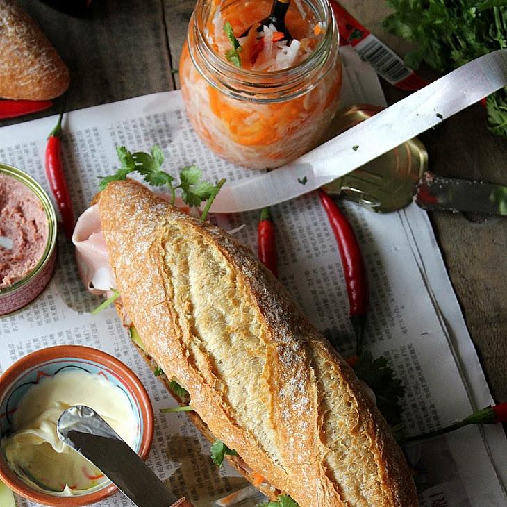 Vietnamese-Style Sandwich (Banh Mi) Recipe