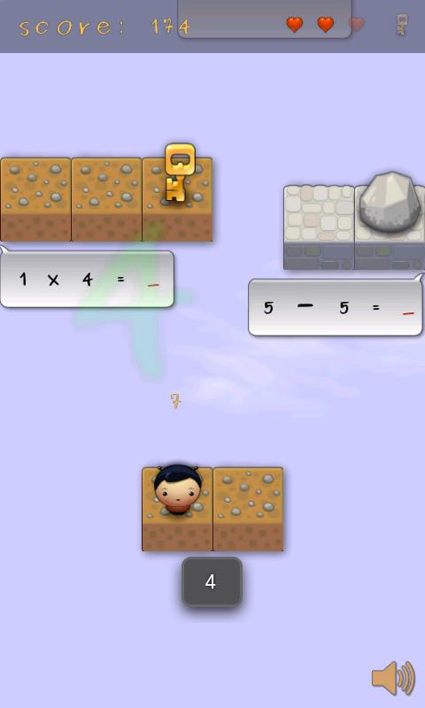 MathJumper LITE - screenshot