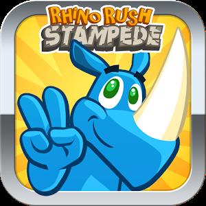 Rhino Rush Stampede 休閒 App LOGO-APP試玩