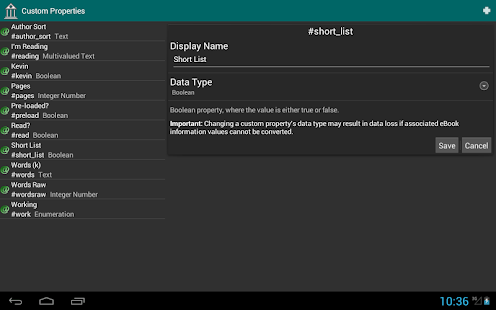 eLibrary Manager - screenshot thumbnail
