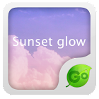 GO Keyboard Sunset glow theme icon