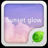 GO Keyboard Sunset glow theme 1.0