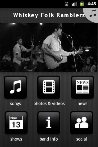 Whiskey Folk Ramblers - screenshot