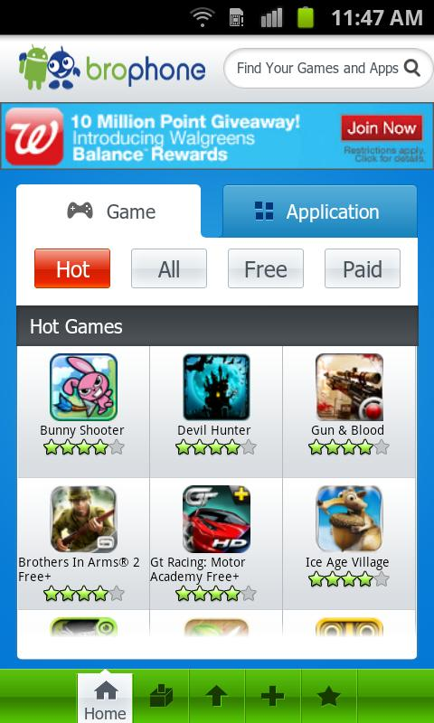 Brophone Market for Android - screenshot