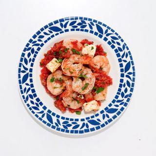 Shrimp à La Grecque Recipe