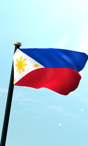 Philippines Flag 3D Wallpaper