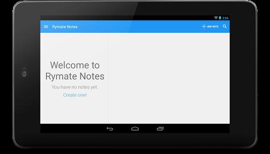 Rymate Notes - screenshot thumbnail