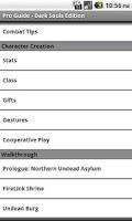 Screenshot of Pro Guide - Dark Souls Edition