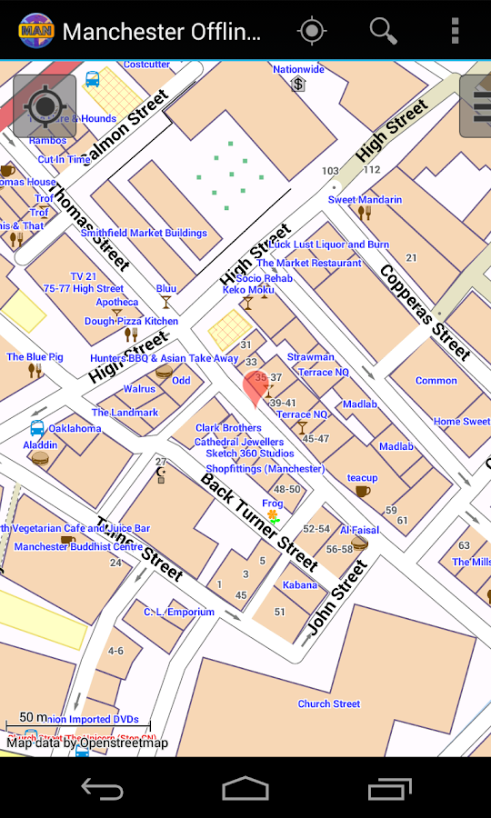 Manchester Offline City Map   Android Apps on Google Play