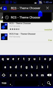 RCS Free CM9 Theme Chooser - screenshot thumbnail