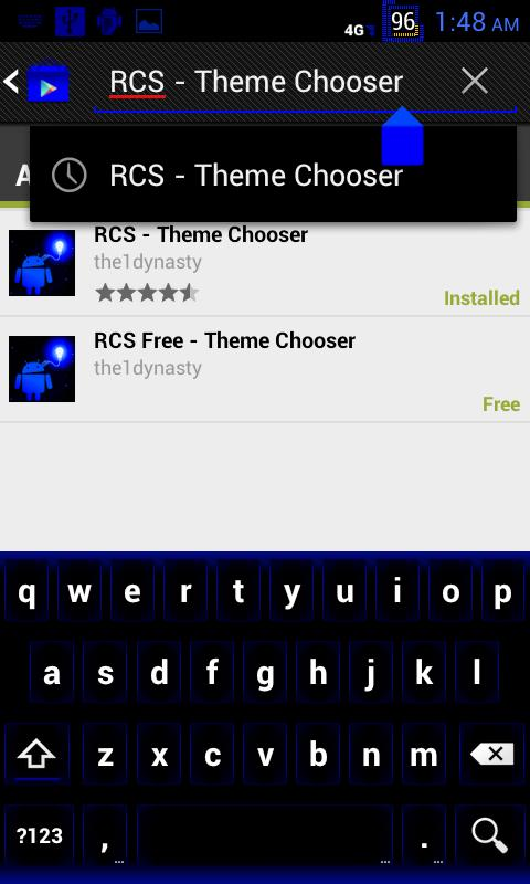 RCS Free CM9 Theme Chooser - screenshot