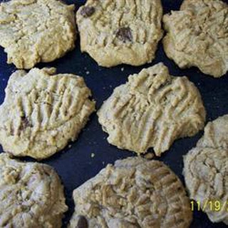 Peanut Butter Shortbread Cookies.