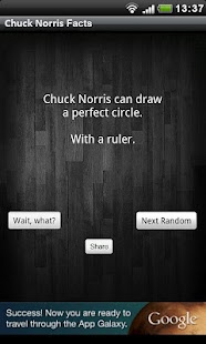 Chuck Norris Facts - screenshot thumbnail