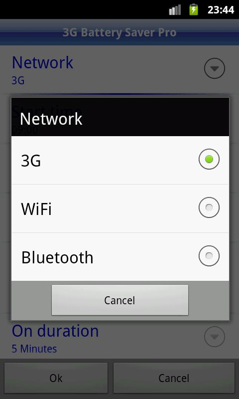 3G Battery Saver Pro + WiFi BT - screenshot