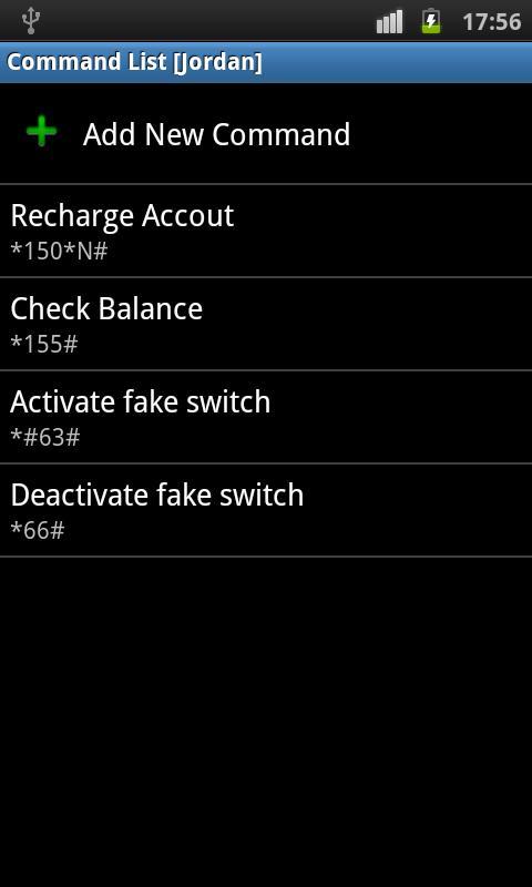 USSD Dialer - screenshot