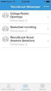 RecruitLook Messenger- screenshot thumbnail