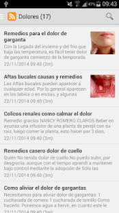 Remedios caseros- screenshot thumbnail