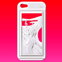 iPhone 5&5S Case ムンク「叫び」