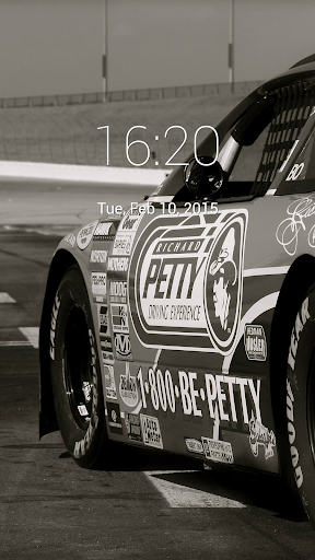 Nascar Lock Screen