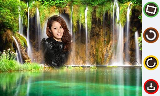 Water Falls Photo Frames