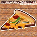 Cheesy Pizza Designer logo