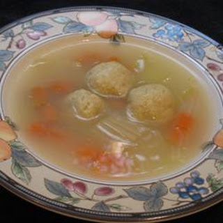 Jewish Chicken Soup.