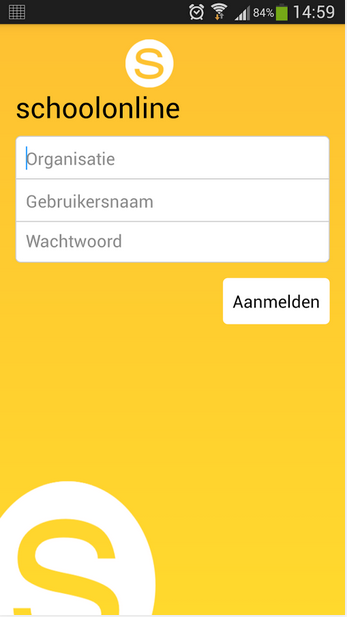 Schoolonline Communicatie- screenshot