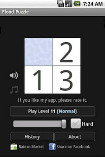 Flood Puzzle- screenshot thumbnail