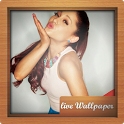 Ariana Grande Live Wallpaper icon