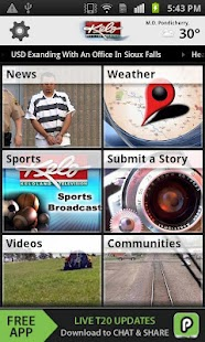 KELOLAND News/Weather/Sports - screenshot thumbnail