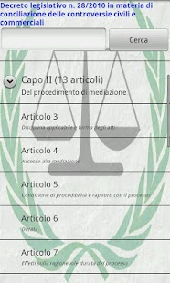 D.L. 28/2010 (Conciliazione)- screenshot thumbnail