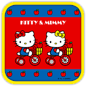 Hello Kitty AppleBicycle Theme