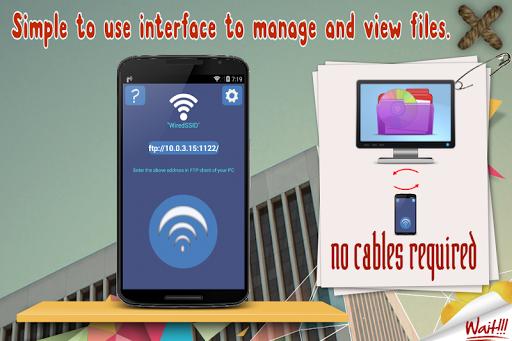 WiFi Data Sharing:FileTransfer