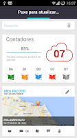 Screenshot of Cadê meu Pacote?