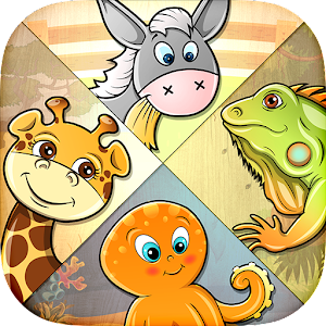 82 Kids Puzzle - Learn Animals